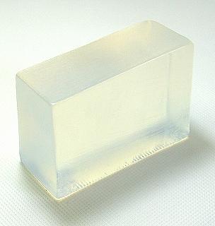 石鹸 透明