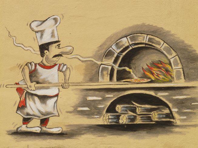 ピザ 焼きたて