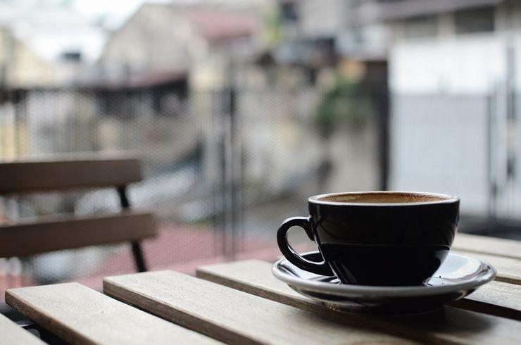 食後 コーヒー